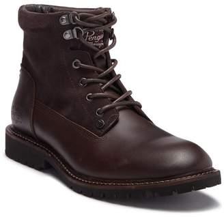 Original Penguin Jesse Leather Combat Boot