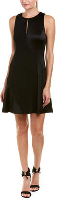 Derek Lam 10 Crosby Mixed Media Shift Dress