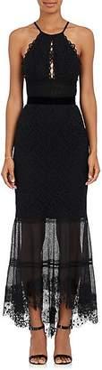 Sophia Kah SOPHIA KAH WOMEN'S BACKLESS LACE COCKTAIL DRESS - BLACK SIZE 10 UK