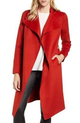 Mackage Leora Belted Long Wool Coat