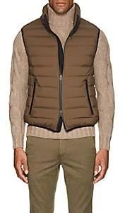 BEIGE D'Avenza Men's Down-Quilted Tech-Taffeta Vest - Beige, Tan