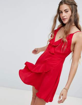 Love & Other Things Wrap Dress