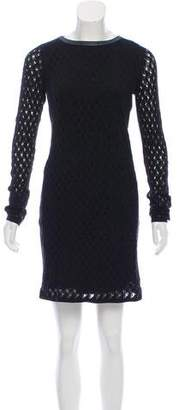 Diane von Furstenberg Slim Kivel Ladder Lace Dress
