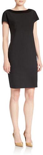 Anne KleinAnne Klein Illusion Detail Shift Dress