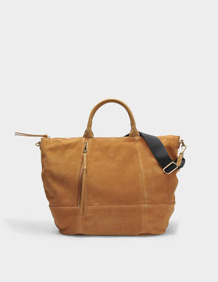 Gerard Darel Only You Tote Bag in Tan Leather