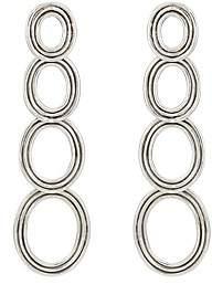 Pamela Love Women's Four Circle Drop Earrings - Silver