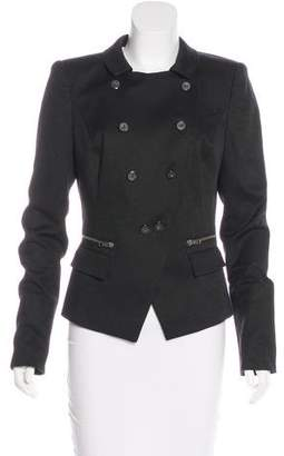 Rachel Zoe Double-Breasted Structured Jacket