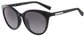 Calvin Klein White Label Square 53 mm Sunglasses