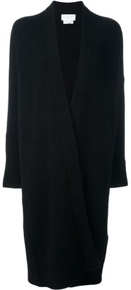 DKNY open front cardi-coat $514.62 thestylecure.com