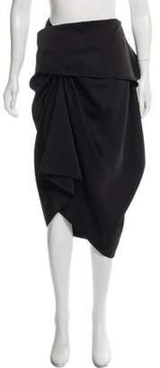 Loewe Ruffled Midi Skirt
