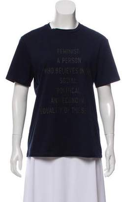 Christian Dior 2017 We Should All Be Feminists T-Shirt