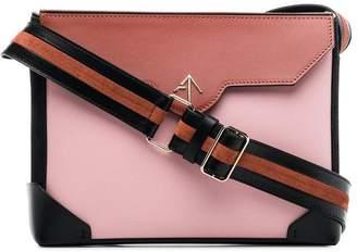 Atelier Manu Multicoloured Bold Leather Shoulder Bag