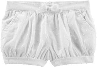 Osh Kosh Oshkosh Bgosh Baby Girl Swiss Dot Bubble Shorts