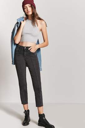 Forever 21 Straight Ankle Jeans