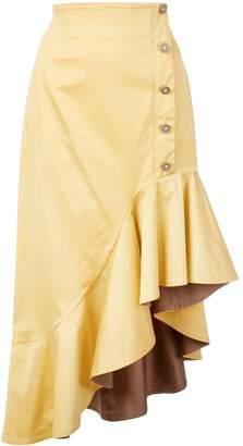 Silvia Tcherassi asymmetric hem skirt