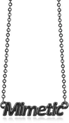 Patrizia Pepe Black 'Mimetic' Necklace