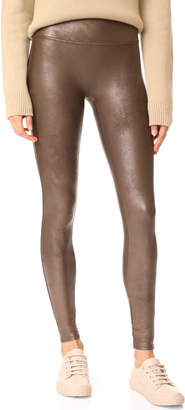 SPANX Faux Leather Leggings $98 thestylecure.com