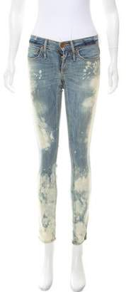 Calvin Rucker Get Down Low-Rise Skinny Jeans w/ Tags