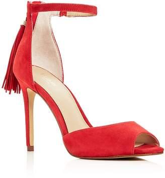 Botkier Women's Anna Suede Ankle Strap High-Heel Sandals