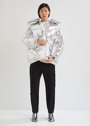 MM6 MAISON MARGIELA Silver Puffer Jacket