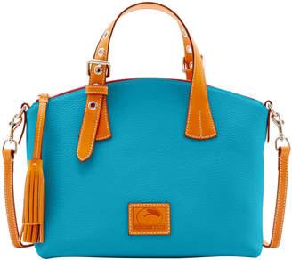 Dooney Bourke Patterson Leather Trina Satchel