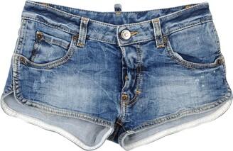 DSQUARED2 Denim shorts - Item 42639488XE