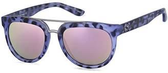 Sunbelt Women's Browbar Round Sunglasses