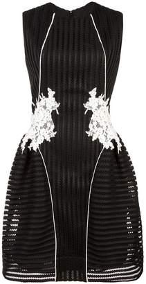 Nha Khanh floral pattern flared dress