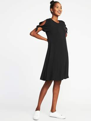 Old Navy Tie-Sleeve Jersey Swing Dress for Women