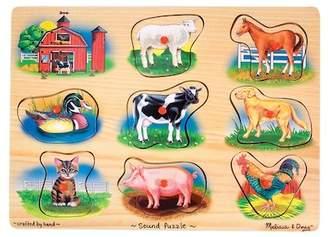 Farm Sound Puzzle - 8 Pieces