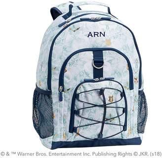 Pottery Barn Kids Gear-Up HARRY POTTERTM; Magical Damask Backpack, Blue