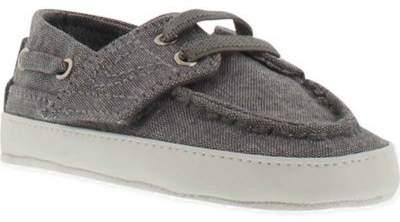 Tretorn Motto Boat Shoe in Grey