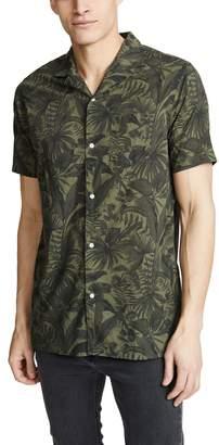 Officine Generale Dario Jungle Print Shirt