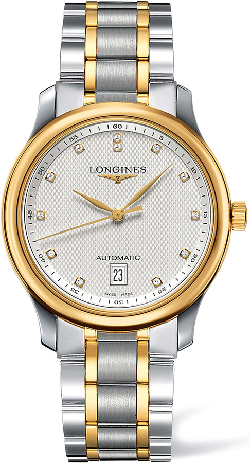 LonginesLongines L26285777 Master 18ct yellow gold and stainless steel watch