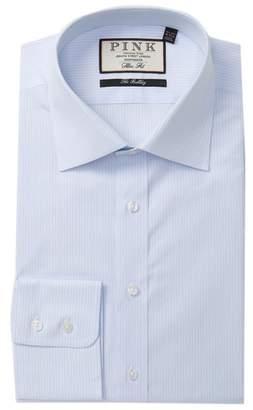 Thomas Pink Lawson Stripe Slim Fit Dress Shirt