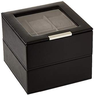 Wolf 319603 Stackable Set of 2 - 6 Piece Watch Trays