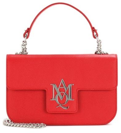 Alexander McQueenAlexander McQueen Insignia Chain leather satchel