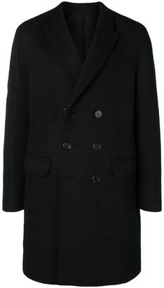 Neil Barrett buttoned up double breasted coat