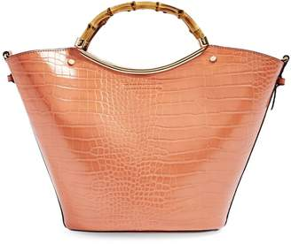 Topshop Tyler Bamboo Tote