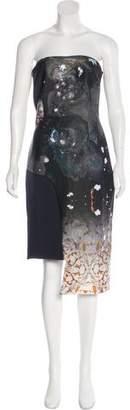 Angelys Balek Asymmetrical Mini Dress w/ Tags