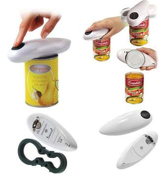 faceto White Automatic Electric Can Tin Bottle Opener No Hands Battery Operated