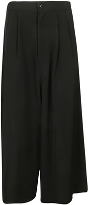 Y's Ys Cropped Wide Leg Trousers