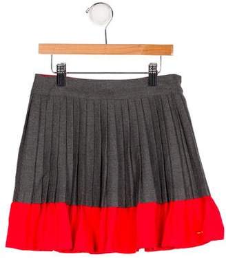 Little Marc Jacobs Girls' Pleated A-Line Skirt