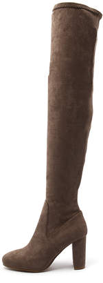 I Love Billy Maddie Taupe Boots Womens Shoes Casual Long Boots