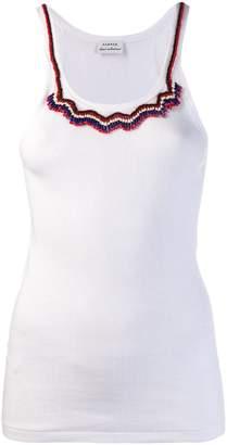 954fc477 Beaded Vest Top - ShopStyle UK