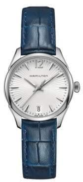 Hamilton Jazzmaster Lady Leather Strap Watch