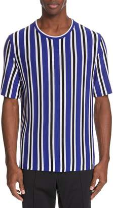Maison Margiela Stripe Wool Blend T-Shirt