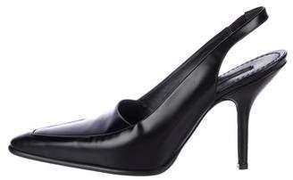 Marc Jacobs Patent Leather Slingback Pumps