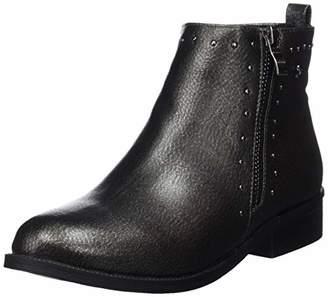 Xti Women's 48619 Ankle Boots, Black Plomo
