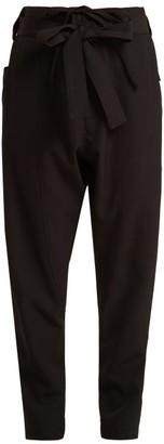 Colville - Straight Leg Cargo Trousers - Womens - Black